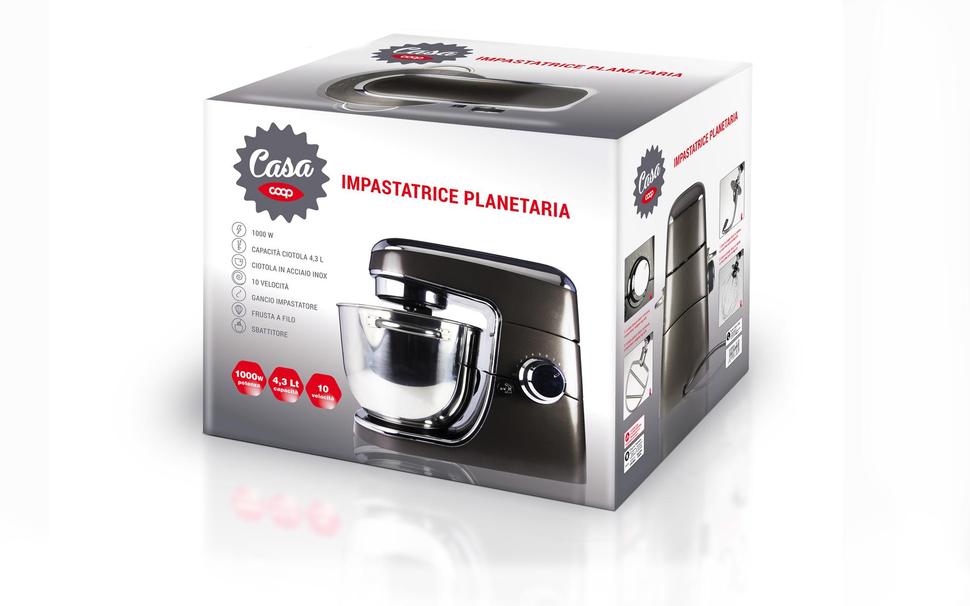 Coop Italia Planetaria packaging by Start