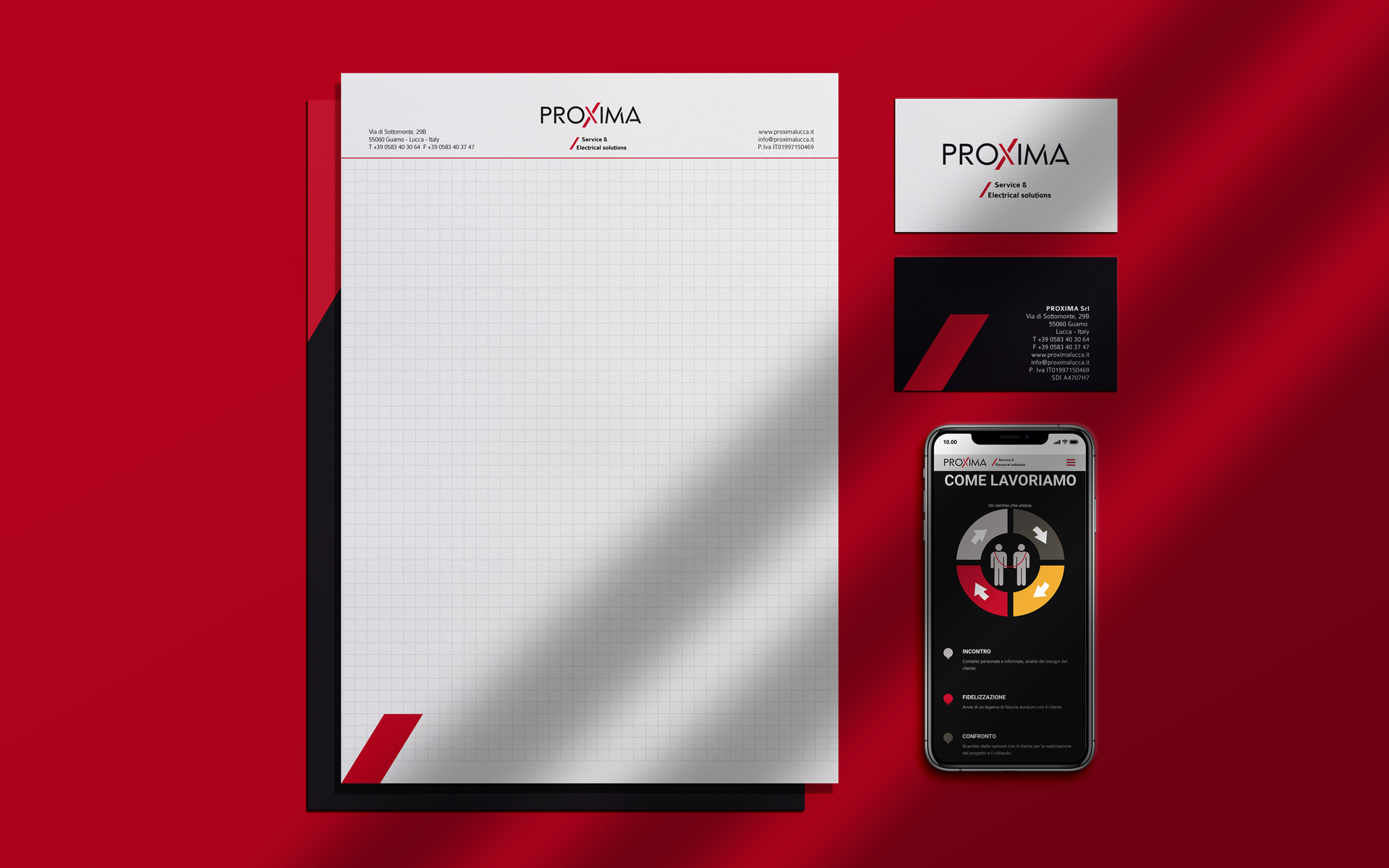 Proxima Lucca Business Identity by Start