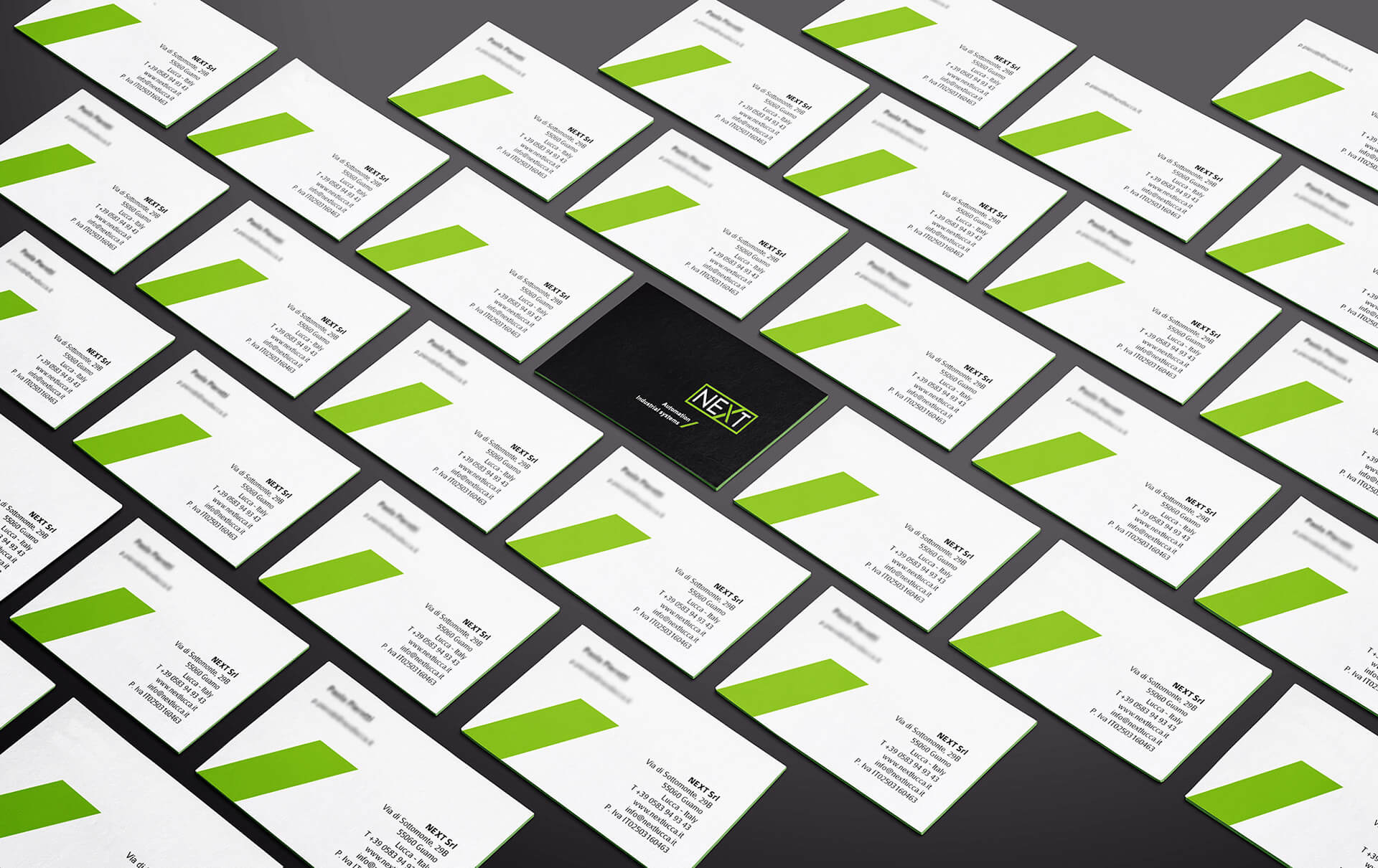 Business card Next by Start