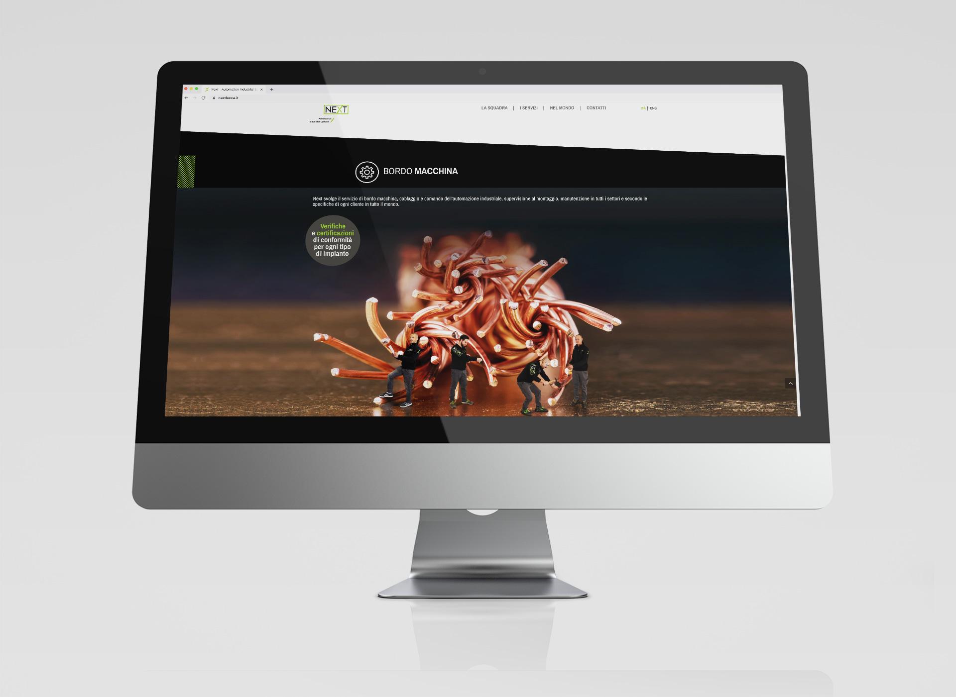 Website Next Lucca by Start
