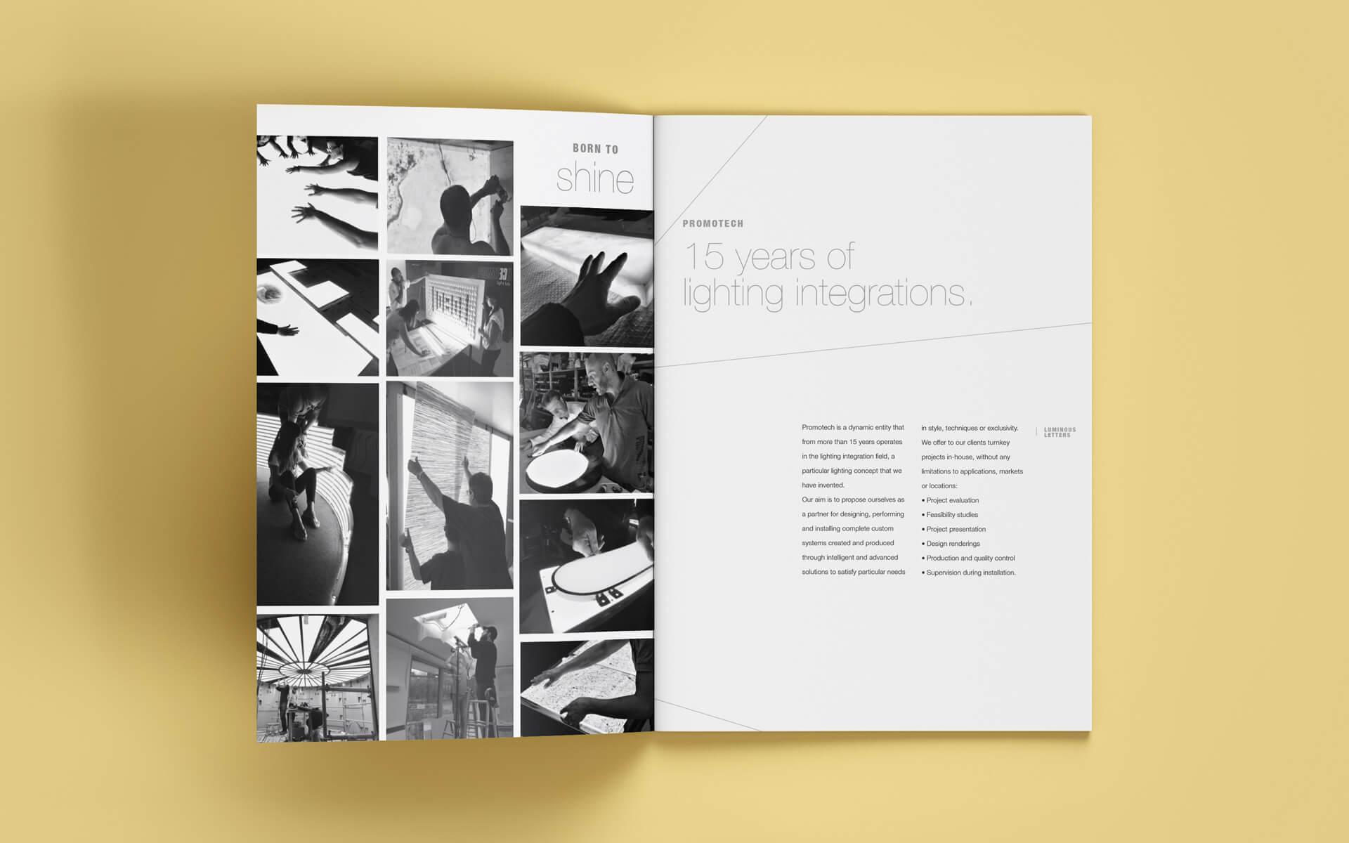 Promotech brochure by Start
