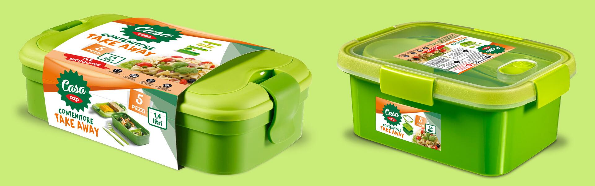 Coop Casa packaging by Start